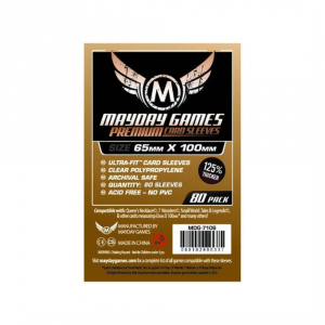 Протекторы MayDay 65 на 100 мм (Premium Magnum Ultra Fit Card Sleeves)