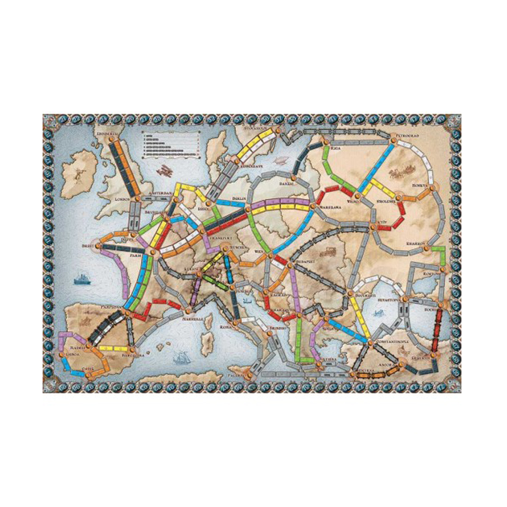 Билет на поезд. Европа (Ticket to Ride. Europe)