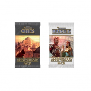 Семь чудес (7 Wonders Anniversary Pack - Leaders and Cities)