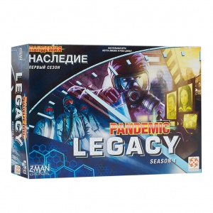 Пандемия. Наследие (Pandemic. Legacy. Season 1 Blue)