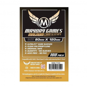 "Протекторы MayDay 80 на 120 мм (Dixit"" Card Sleeves - Magnum Ultra-Fit)"