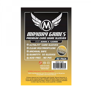 "Протекторы MayDay 80 на 120 мм Премиум (Dixit"" Card Sleeves - Ultra-Fit Premium)"