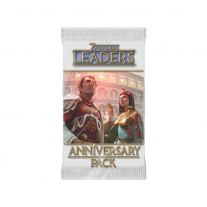 Семь чудес (7 Wonders Anniversary Pack - Leaders)