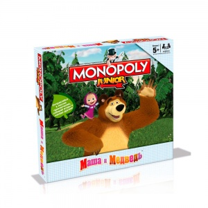 Монополия Маша и Медведь (Monopoly Junior)
