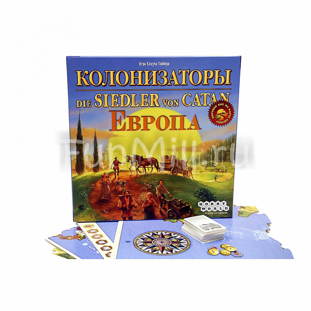 Колонизаторы. Европа (Catan Histories: Merchants of Europe)