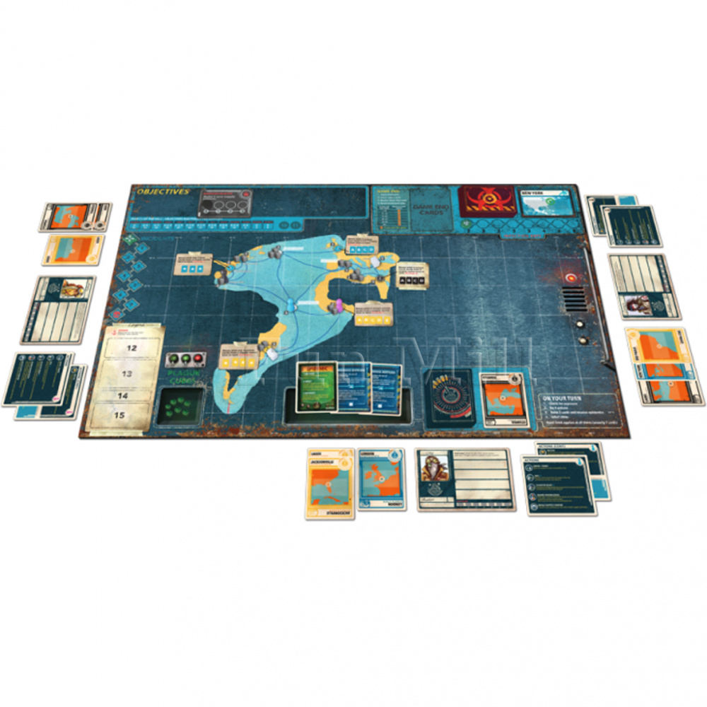 Пандемия. Наследие (Pandemic. Legacy. Season 2. Black)