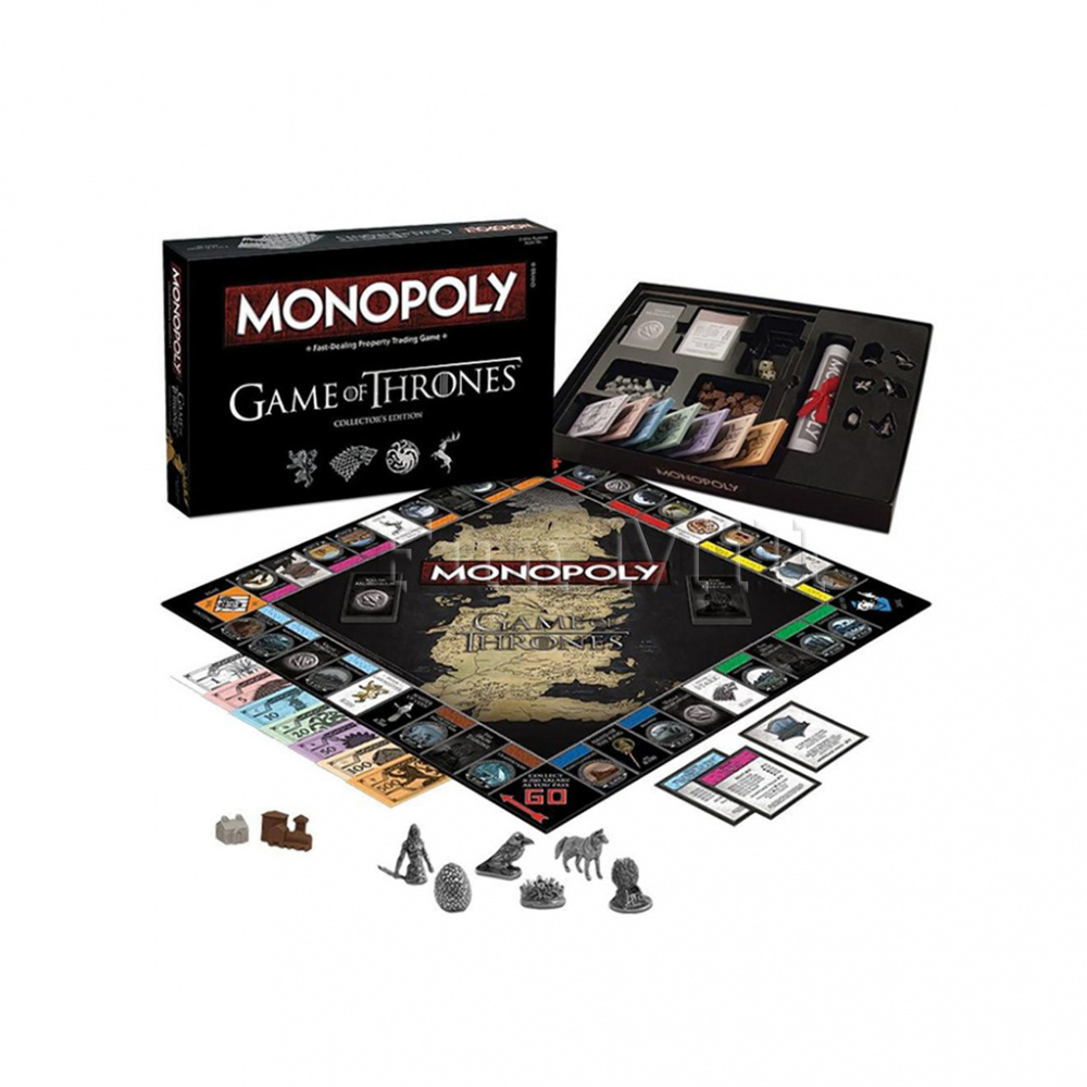 Монополия Игра Престолов (Monopoly Game of Thrones)